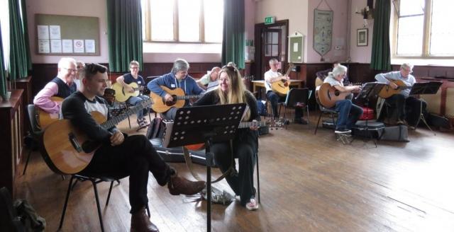 guitar workshops in the uk