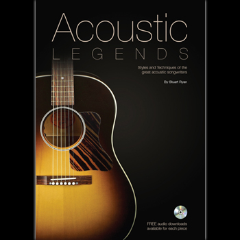 acoustic legends guitar book
